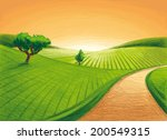 into the sun | Shutterstock .eps vector #200549315