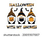 Halloween With My Gnomes....