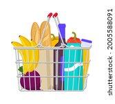 cart  shopping bag  shopping... | Shutterstock .eps vector #2005588091