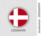 national flag of denmark .round ...   Shutterstock .eps vector #2005636994