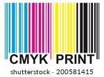Barcode   Cmyk Print