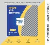 tourism agency social media...   Shutterstock .eps vector #2005894814