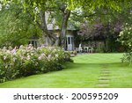 Cotswold Cottage Garden  With...