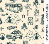 summer recreation vintage... | Shutterstock .eps vector #2005956011