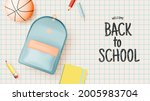 various stationery and school...   Shutterstock .eps vector #2005983704