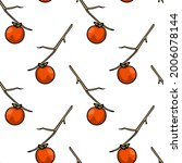 vector seamless pattern with... | Shutterstock .eps vector #2006078144