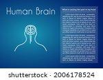 human brain linear medical icon ... | Shutterstock .eps vector #2006178524
