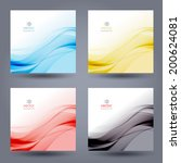 abstract colorful template... | Shutterstock .eps vector #200624081