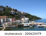 marina grande  sorrento. quaint ... | Shutterstock . vector #200625479