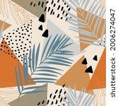 abstract summer seamless... | Shutterstock .eps vector #2006274047