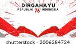flag banner of indonesian happy ... | Shutterstock .eps vector #2006284724