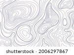 topographic map. topography...   Shutterstock .eps vector #2006297867