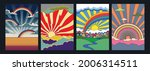 psychedelic art skies and...   Shutterstock .eps vector #2006314511
