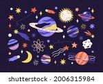 set of planets  stars ...   Shutterstock .eps vector #2006315984