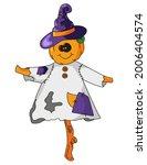 Scarecrow For Halloween....