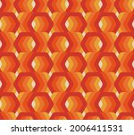 retro seamless pattern from the ...   Shutterstock .eps vector #2006411531