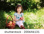 little girl. | Shutterstock . vector #200646131