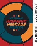 national hispanic heritage...   Shutterstock .eps vector #2006489084