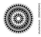 maori circle tattoo shape ...   Shutterstock .eps vector #2006540441