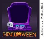 halloween rip avatar frame ...