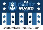 u.s. coast guard day in united...   Shutterstock .eps vector #2006573504