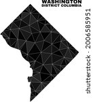 lowpoly washington district... | Shutterstock .eps vector #2006585951