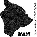 lowpoly hawaii big island map.... | Shutterstock .eps vector #2006586041