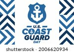 u.s. coast guard day in united...   Shutterstock .eps vector #2006620934