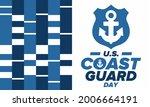 u.s. coast guard day in united...   Shutterstock .eps vector #2006664191