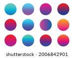 vibrant colorful gradients...