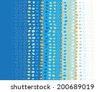 dotted texture background ... | Shutterstock .eps vector #200689019