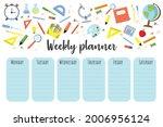 education lessons plan....   Shutterstock .eps vector #2006956124