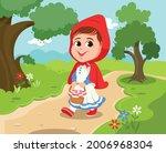 cartoon illustration of little... | Shutterstock .eps vector #2006968304