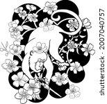 monkey illustration for...   Shutterstock .eps vector #2007040757