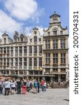 brussels  belgium   june 19 ... | Shutterstock . vector #200704331