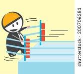 propulsion business | Shutterstock .eps vector #200706281