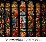 Stained Glass Depicting Jesus...