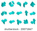 direction | Shutterstock .eps vector #20071867