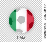 national flag of italy on a...   Shutterstock .eps vector #2007235514