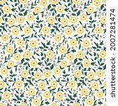seamless floral pattern for... | Shutterstock .eps vector #2007281474