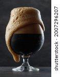 Detail Of Dark Beer With...