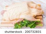 Raw Duck Carcass