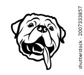 rottweiler dog   isolated...   Shutterstock .eps vector #2007333857