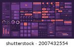 web elements. ui layout symbols ...