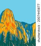 wpa poster art of sentinel... | Shutterstock .eps vector #2007445877