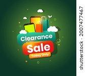 smartphone gadget clearance...   Shutterstock .eps vector #2007477467