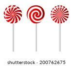 striped candy vector...