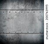 metal background  | Shutterstock . vector #200763995