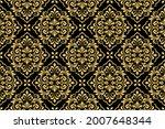 floral pattern. vintage...   Shutterstock .eps vector #2007648344