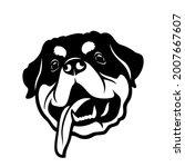 rottweiler dog   isolated...   Shutterstock .eps vector #2007667607